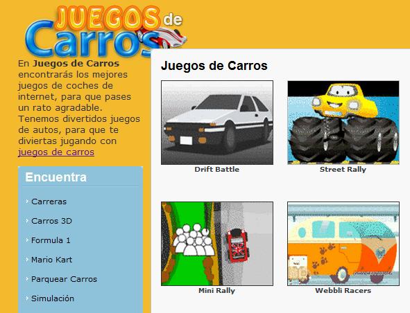 Juegos de carros para jugar gratis online