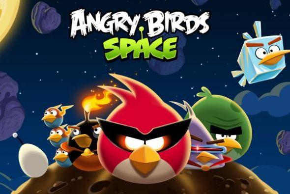 50 millones de descargas, impresionante cifra de Angry Birds Space
