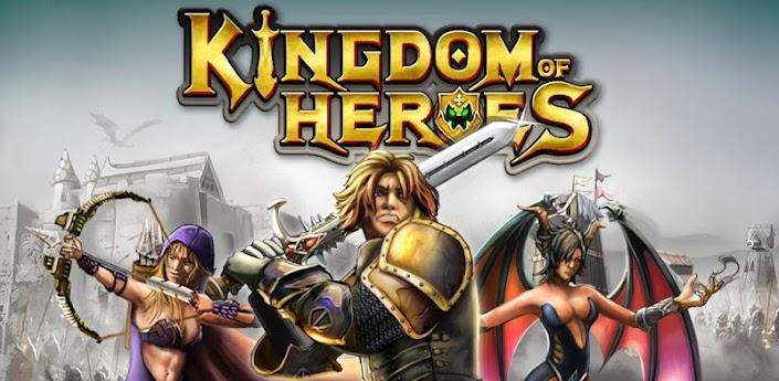 Kingdom of Heroes: Construye y pelea con tu propio reino medieval